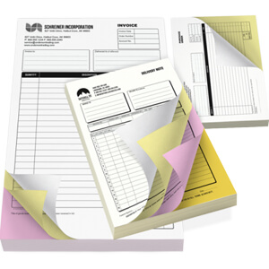 NCR Forms, Carbonless Forms